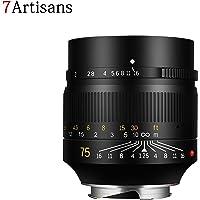 7artisans 75mm F1.25 Fixed Mirrorless Kameraobjektiv für Leica M-Mount Kameras wie Leica M-M Leica M240 Leica M3 Leica M6 Leica M7 Leica M8 Leica M9 Leica M9p Leica M10 (Vorverkauf)