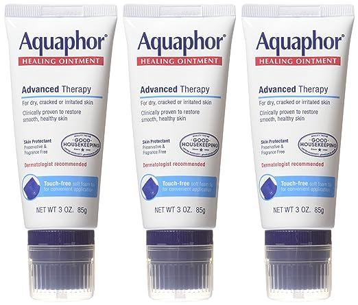 优色林 Eucerin Aquaphor 新版免触型 万用修复霜 85g*3支