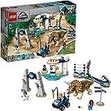 LEGO Jurassic World - Caos del Triceratops Juguete de construcción de Dinosaurios Inspirado en las Películas de Jurassic…