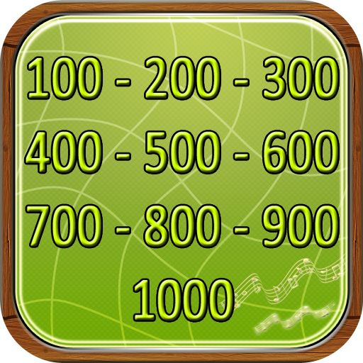Numbers in English from 100 to 1000