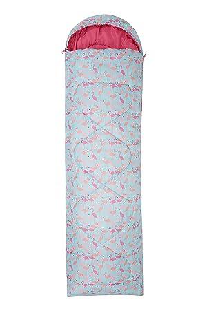 Mountain Warehouse Saco de Dormir Tipo Rectangular Apex 250 - Saco de Acampada con Cremallera bidireccional, Saco de Dormir Ligero - Ideal para ...