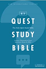 NIV, Quest Study Bible, eBook: The Only Q and A Study Bible Kindle Edition