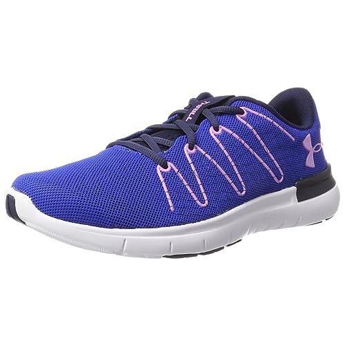 Under Armour UA W Thrill 3 Zapatillas de Entrenamiento para Mujer Azul Lapis Blue 38 EU