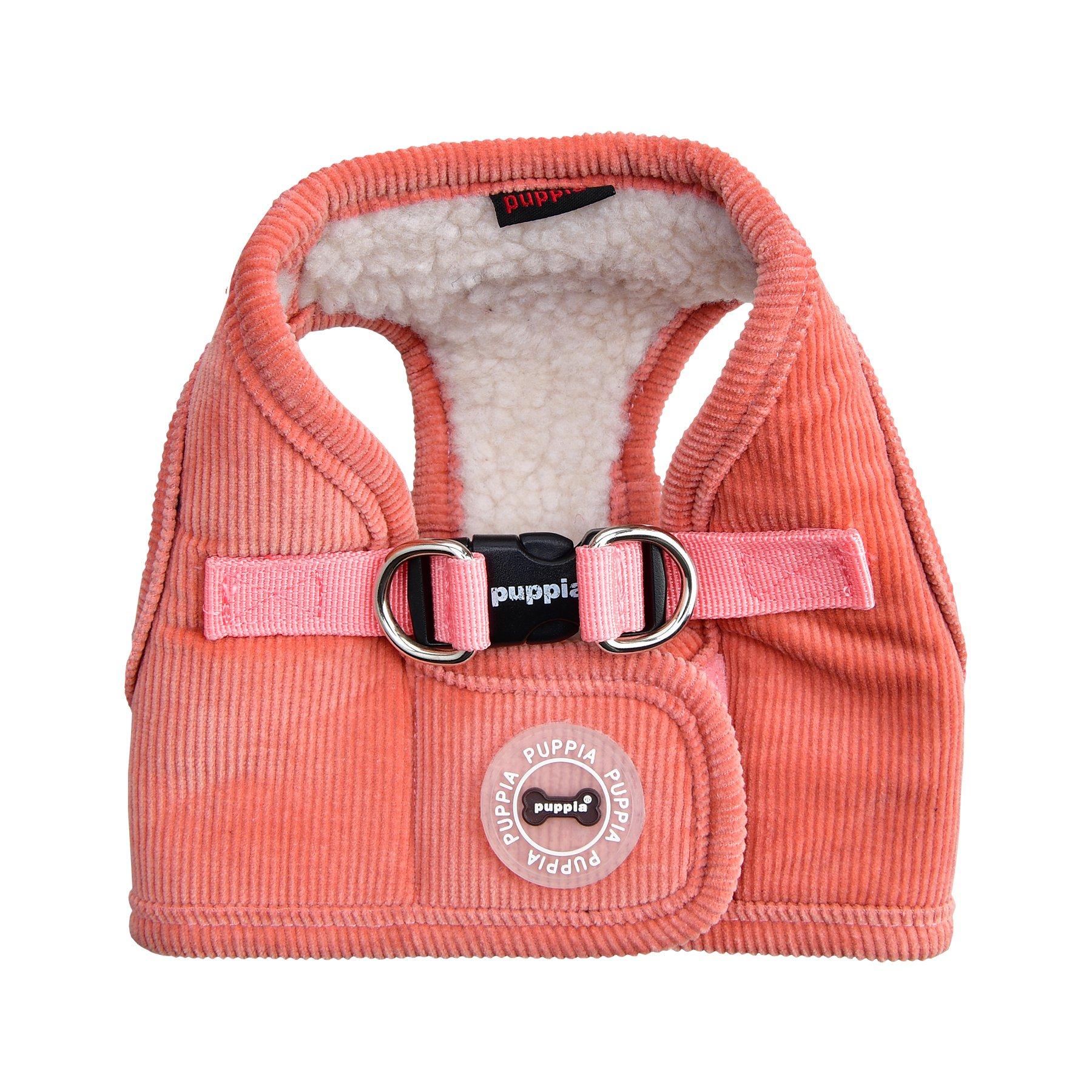 Puppia Classy Harness B, Small, Peach by Puppia
