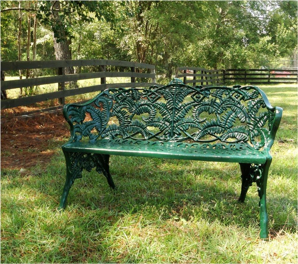 Strange Amazon Com The Kings Bay Garden Street Green Bench With Forskolin Free Trial Chair Design Images Forskolin Free Trialorg