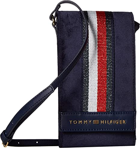 b08704db9 Amazon.com: Tommy Hilfiger Women's Isa Phone Crossbody Tommy Navy One Size:  Computers & Accessories