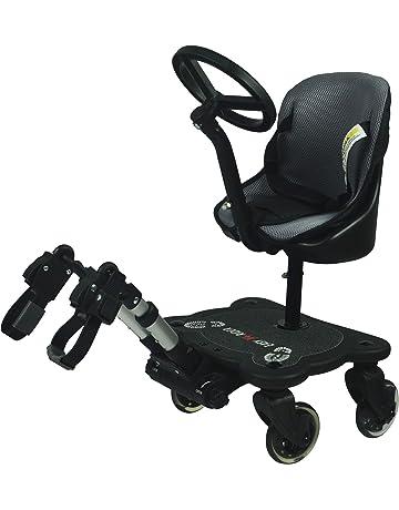 Easy X4 Rider Sit N Ride - Silla de paseo universal con 4 ruedas y asiento