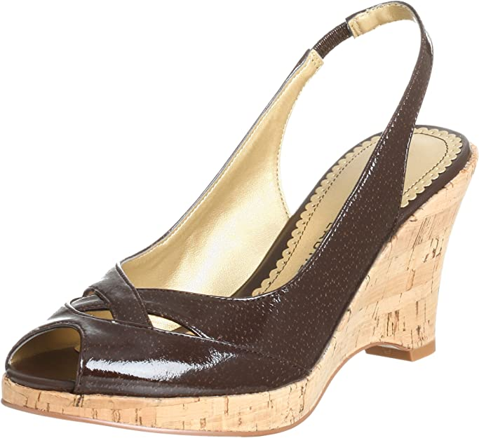 Beige Chinese Laundry Z Damien Platform Wedge   Zapatos