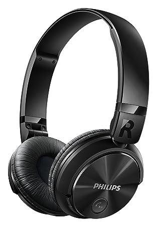 Philips SHB3080BK/00 - Auriculares (Inalámbrico, Diadema, Binaural, Circumaural, 10-22000 Hz, Negro): Amazon.es: Electrónica