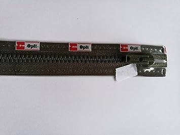 45cm Rei/ßverschluss Coats Opti P 60 Zweiwege Werraschieber teilbar 0000 schwarz Fb