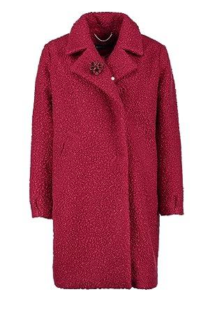 Mantel dunkelrot damen
