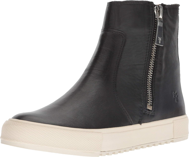 Frye Women's Gia Lug Zip Bootie Sneaker
