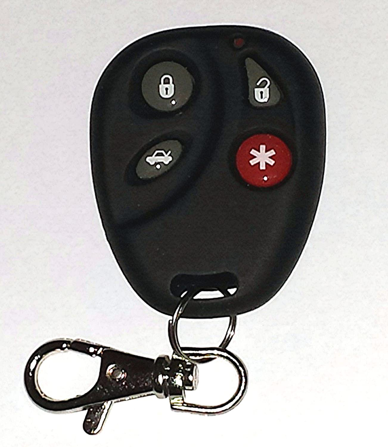 OUC60270, OUC60221 Set of 2 USARemote 4332964343 Key Fob Keyless Entry Remote with Ignition Key fits Cadillac DTS // Chevy Impala Monte Carlo 2006-2013