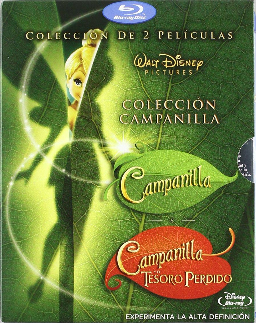 Pack Campanilla y el Tesoro Perdido + Campanilla Blu-ray: Amazon ...