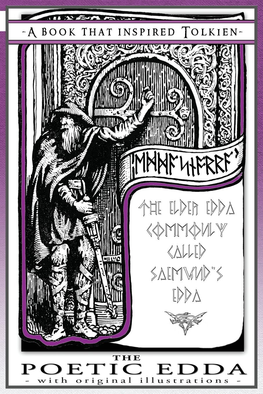 The Poetic Edda   A Book That Inspired Tolkien  With Original Illustrations  The Professor's Bookshelf Band 2