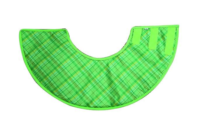 Croci C5020149 Schutzkragen Elisabetta Soft, M 16 cm, grün