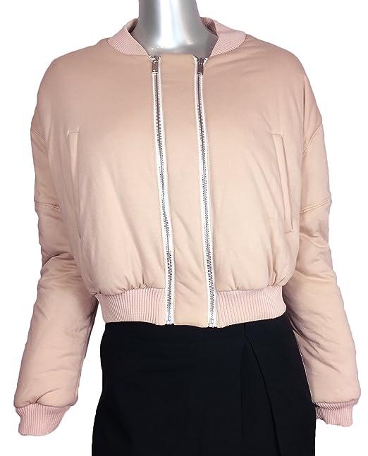 Zara Women's Double zip bomber jacket 2452/695 (Medium)