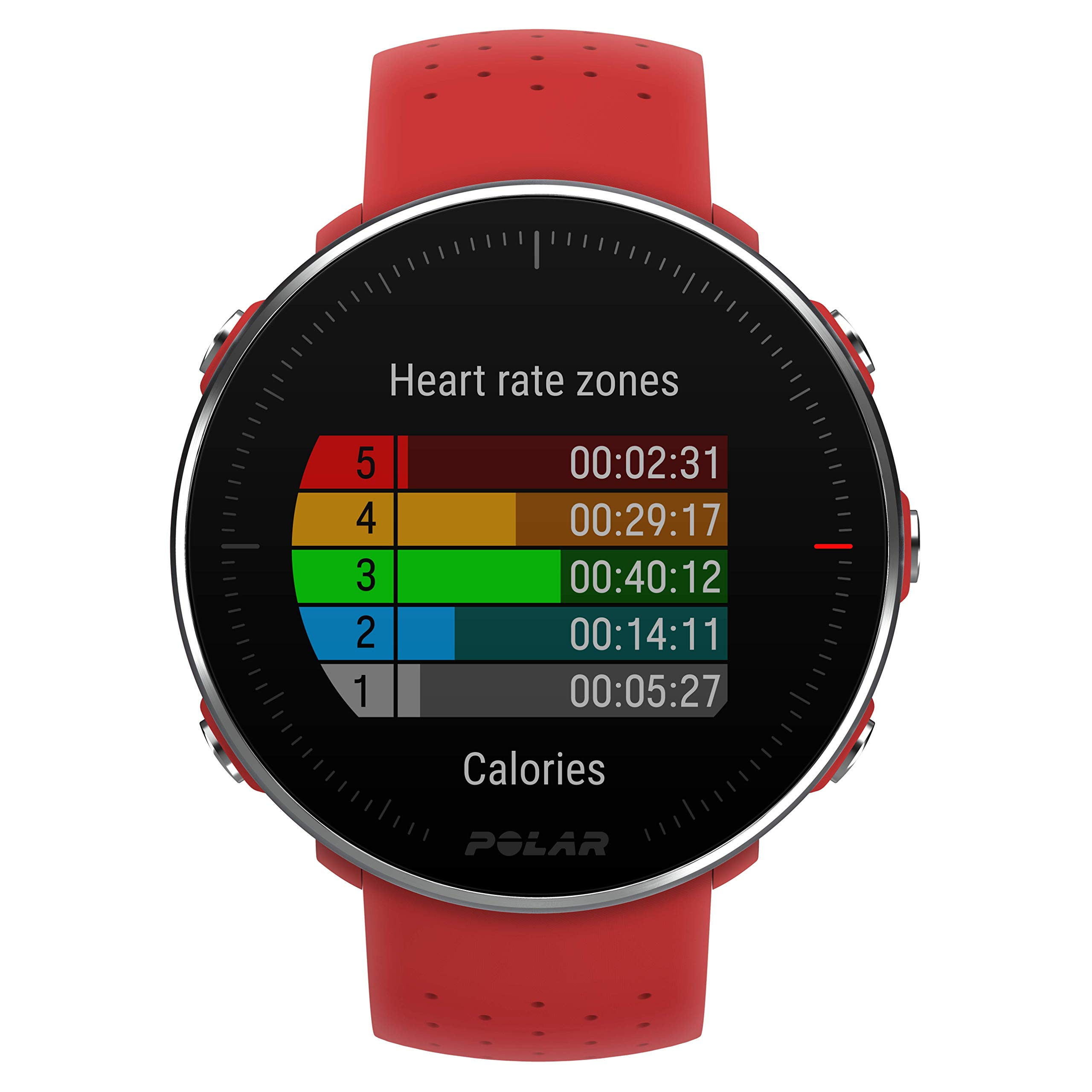 POLAR VANTAGE M –Advanced Running & Multisport Watch with GPS and Wrist-based Heart Rate (Lightweight Design & Latest Technology, Red, M-L by Polar (Image #7)