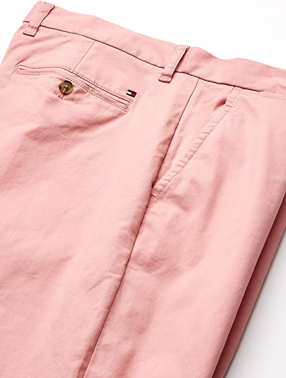 Tommy Hilfiger Mens Stretch Chino Pants in Custom Fit Casual Pants
