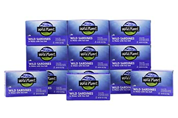 Wild Planet 4.375-oz Canned Sardines In Water With Sea Salt