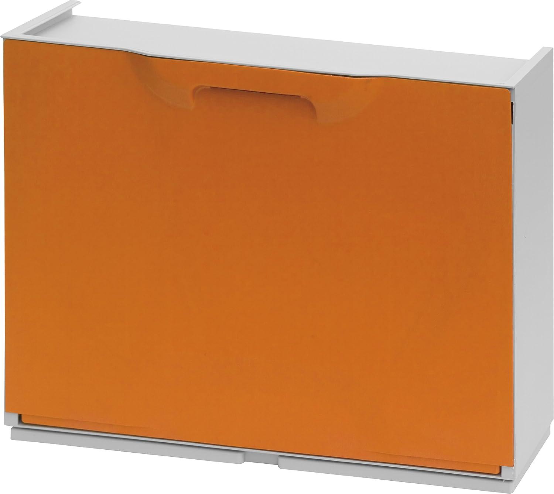 Nero//Bianco Art Plast U50//1N Scarpiera in Plastica