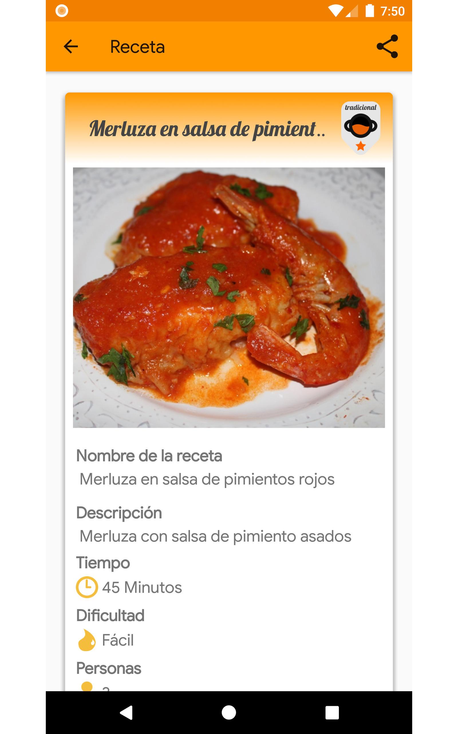 Cocina Tradicional (Recetas): Amazon.es: Appstore para Android