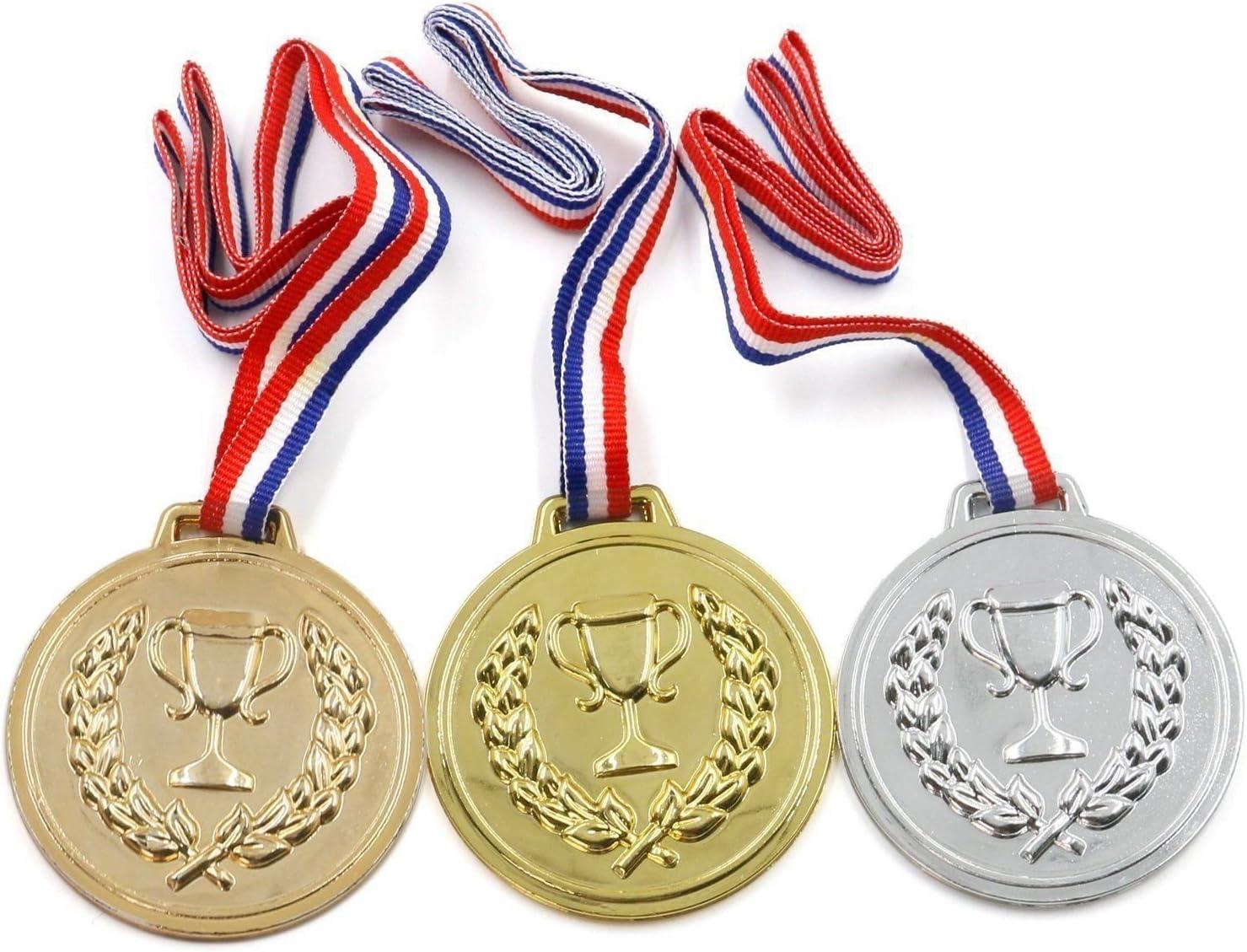 GOLD, PLATA & BRONCE MEDALLAS, OLIMPIADAS/DEPORTES DAY PREMIOS ...