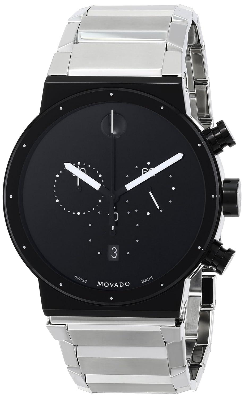 Movado Men s 0606800 Sapphire Synergy Swiss Quartz Silver Watch