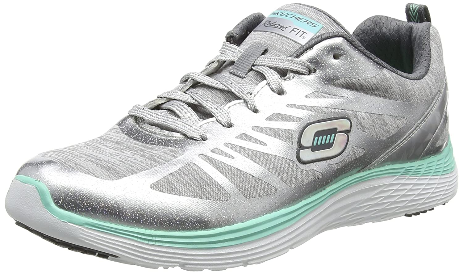 Beste Skechers Relaxed Fit: Empire Keep Focus Weiß Outdoor