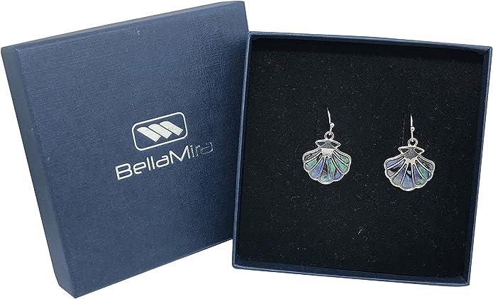 Nuevo Hermoso Collar De Plata Tono Diamante Caballito de mar vendedor de Reino Unido