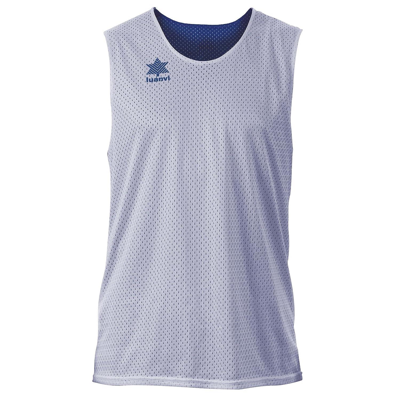 Luanvi Triple Camiseta Reversible Deportiva, Hombre