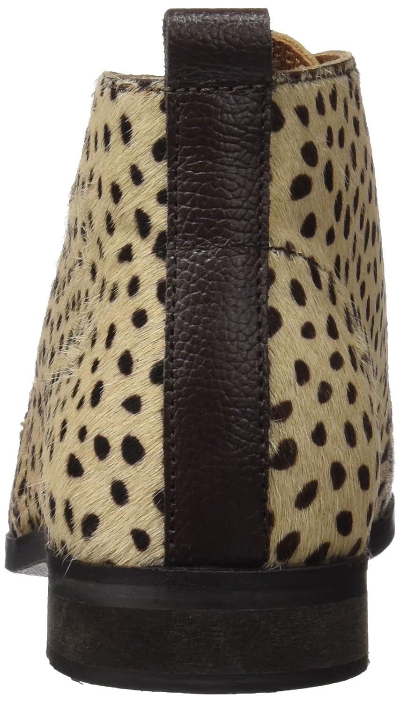 26432, Zapatillas para Mujer, Marrón (Cheetah), 37 EU Gioseppo