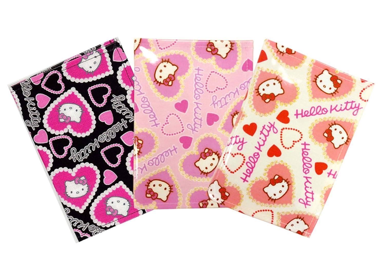 Vanguard 234514 Hello Kitty Passport Cover Rem Heart Black