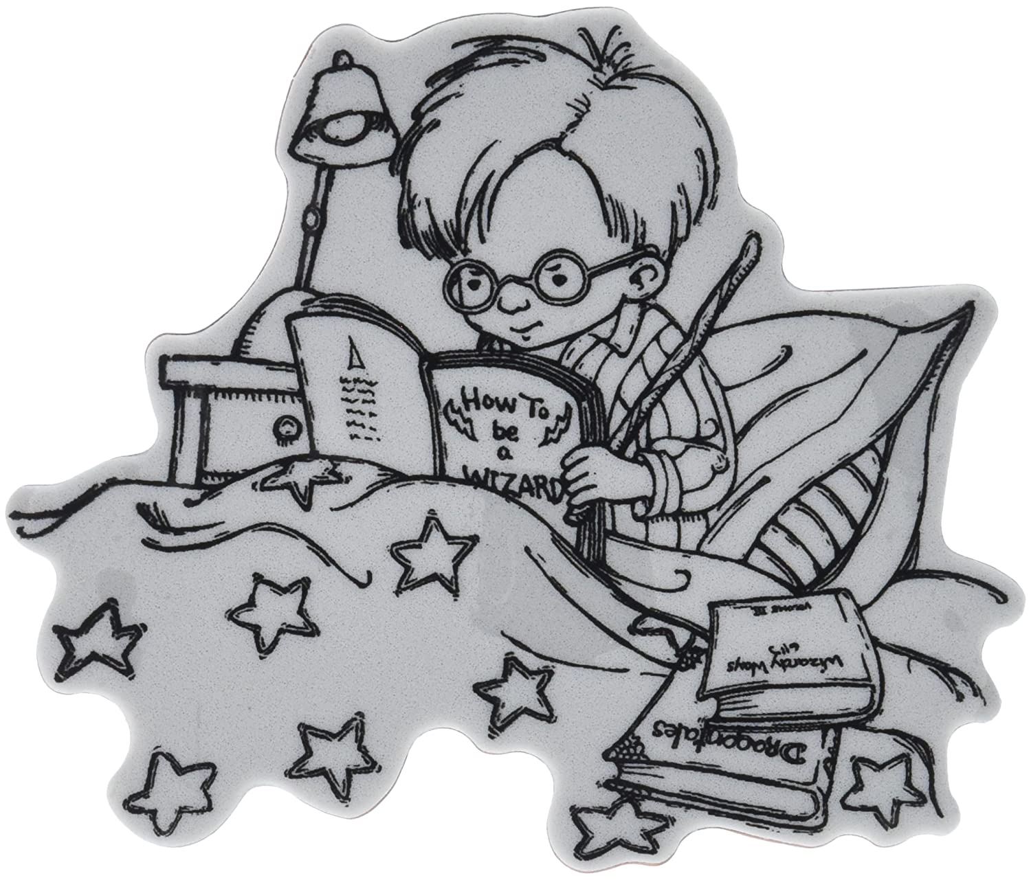 Penny Black Penny Black Cling Stamp 5-inch x 7-inch-.a Wizard ...