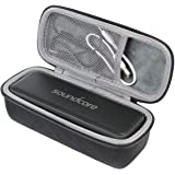 co2crea Hard Travel Case for Anker SoundCore 1/2 / Motion B Portable Outdoor Sports Bluetooth Speaker (Black…