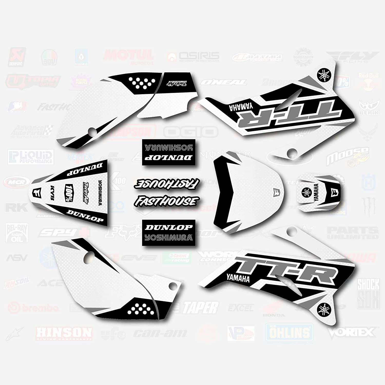 Gray Shift Racing Graphics fit 2008-2019 YAMAHA TTR110 Sticker TTR 110 08-19