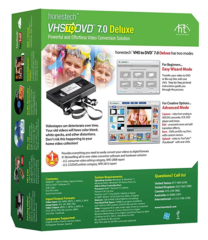 VHS to DVD 7 0 Deluxe
