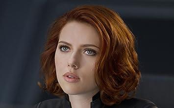 Posterhouzz Actress Black Widow Faces Natasha Romanoff