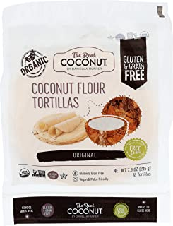product image for The Real Coconut, Tortilla Coconut Flour Original, 7.6 Ounce