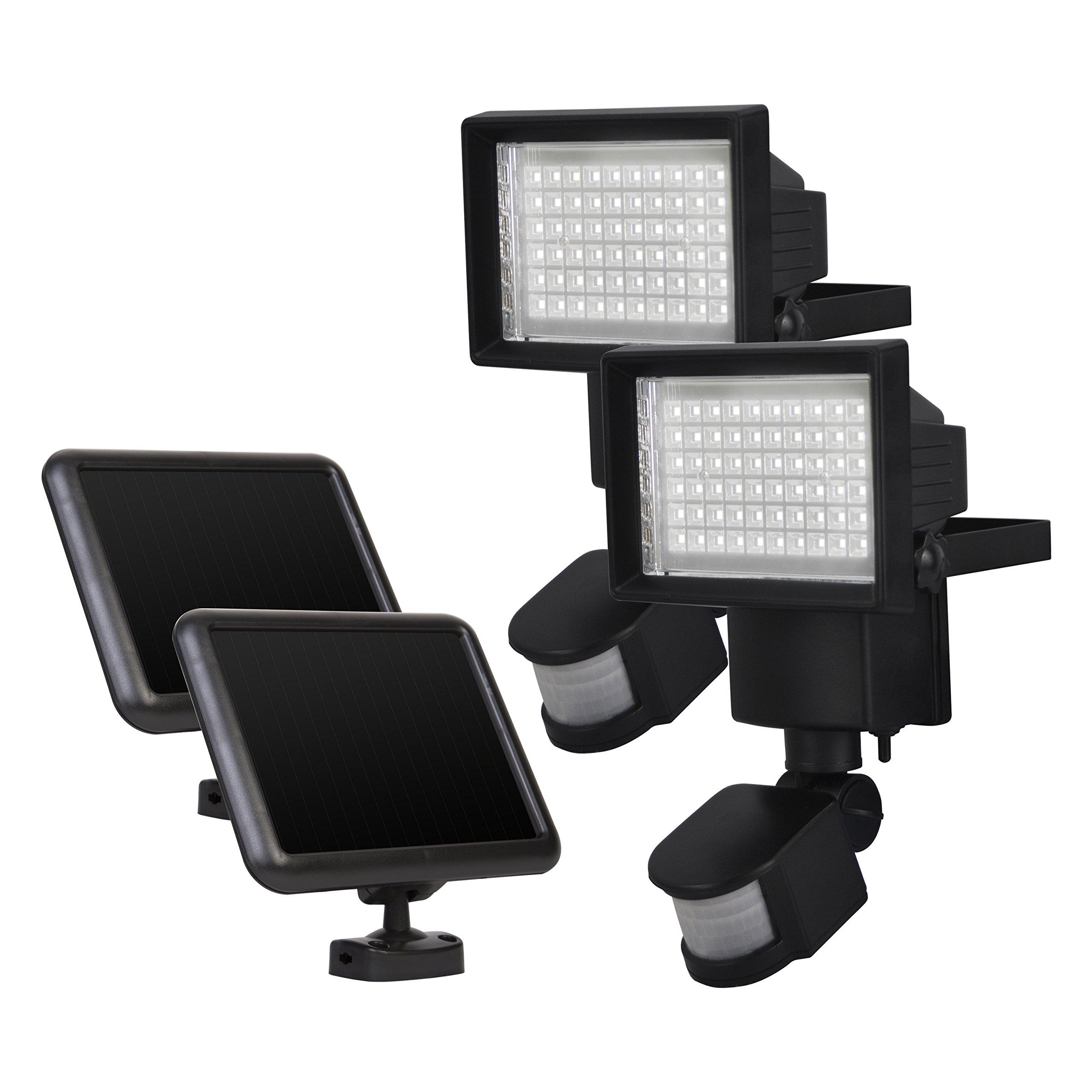 Sunforce 82256 60-LED Solar Motion Light - 2 pack by Sunforce