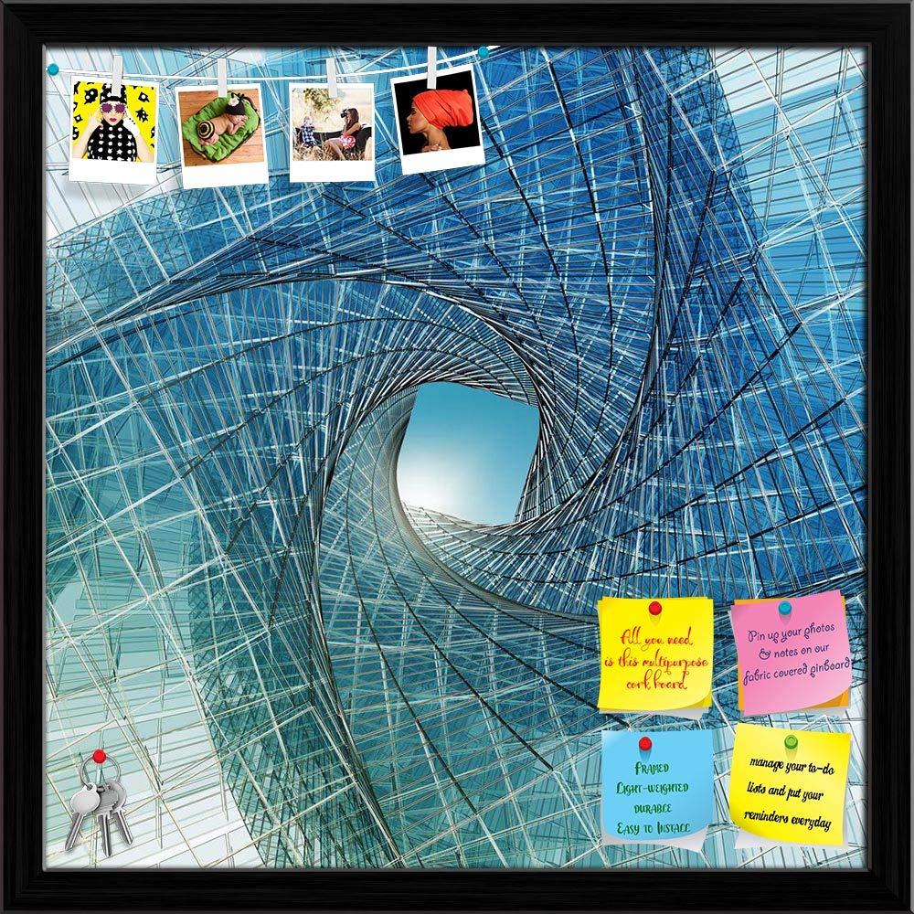 Amazon com : ArtzFolio Abstract Tunnel Printed Bulletin Board Notice