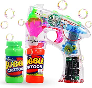 TheeFun Transparent Bubble Gun