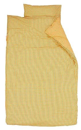 Black Taftan Checkered Cat Red Duvet Cover Set 100 x 135cm for Cot