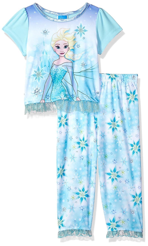 Disney Frozen Juego De Pijama Para Nina 2 Piezas 21fz689glldz