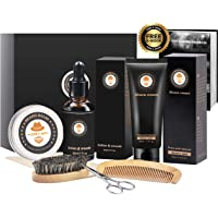 XIKEZAN 8 in 1 Mens gifts for Men Beard Care Growth Grooming Kit