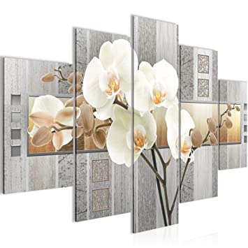 Bild 150 X 100 Cm Blumen Bilder Vlies Leinwand Deko Fur