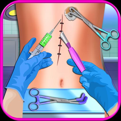 Surgery Simulator Doctor - Kids Heart, Head, Foot, Hand & Knee Surgery Games -