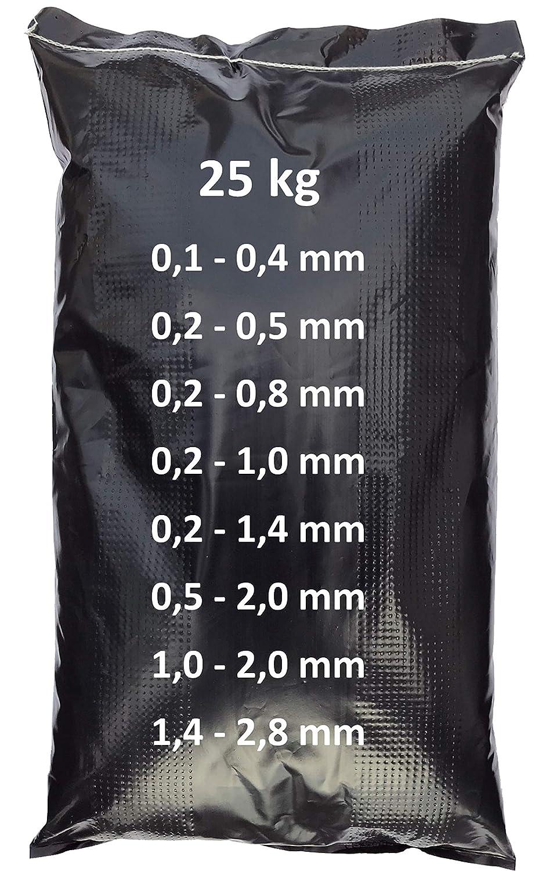 0,5-2,0 mm 25 kg Strahlmittel Strahlgut Kupfersilikatschlacke