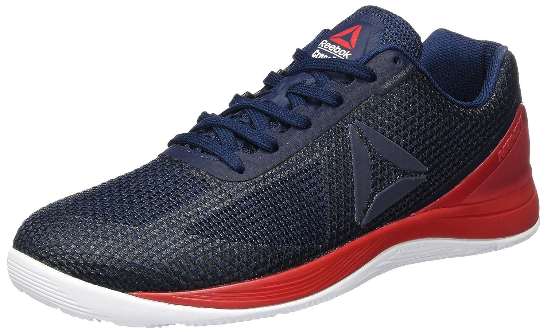 Reebok R Crossfit Nano 7.0, Zapatillas de Running Unisex 37.5 EU M Azul (Collegiate Navy/Primal Red/White/Black)
