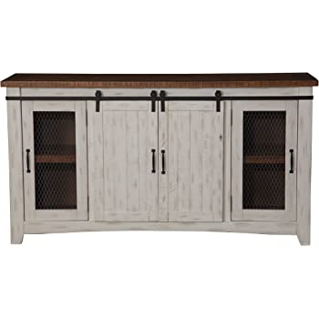 Better Homes And Gardens Modern Farmhouse Tv Stand Entertainment Center For Tvs Up